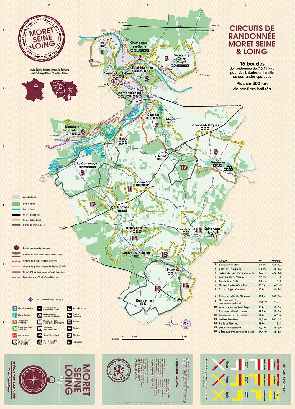 Télécharger la carte des circuits de randonnée MSL
